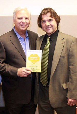 Jack Canfield with author and Corporate Trainer Rick Saruna