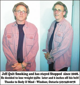 Jeff Weight Loss & Quit Smoking