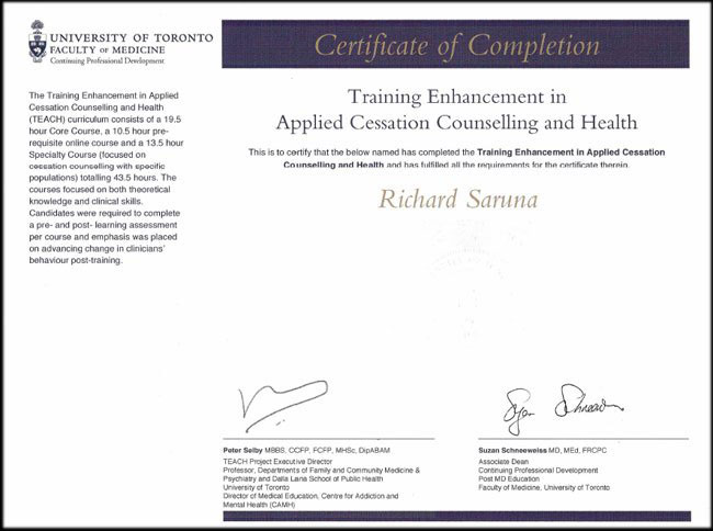 Body and Mind Windsor Ontario Certified Quit Smoking