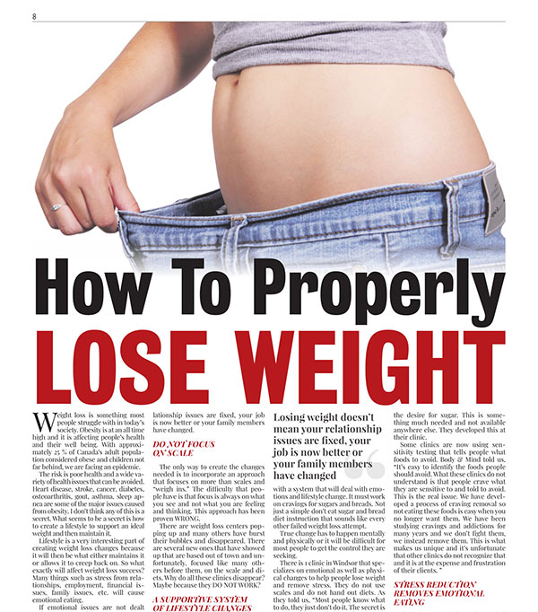 Weight Loss - Laser & Hypnosis | Body & Mind Natural Health